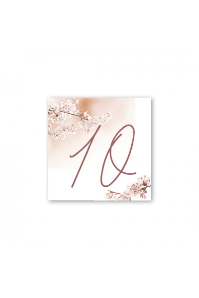 Καρτελάκι αρίθμησης γάμου 023A