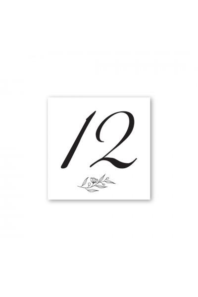 Καρτελάκι αρίθμησης γάμου 029A