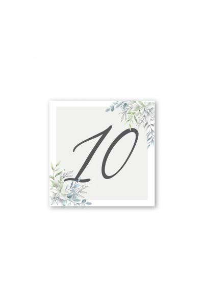 Καρτελάκι αρίθμησης γάμου 052A