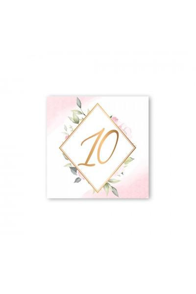 Καρτελάκι αρίθμησης γάμου 057A