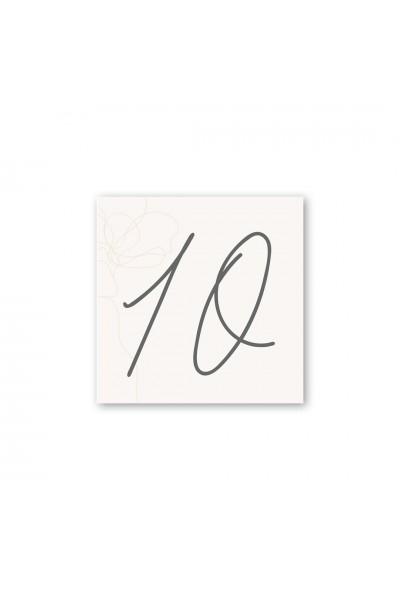 Καρτελάκι αρίθμησης γάμου 059A