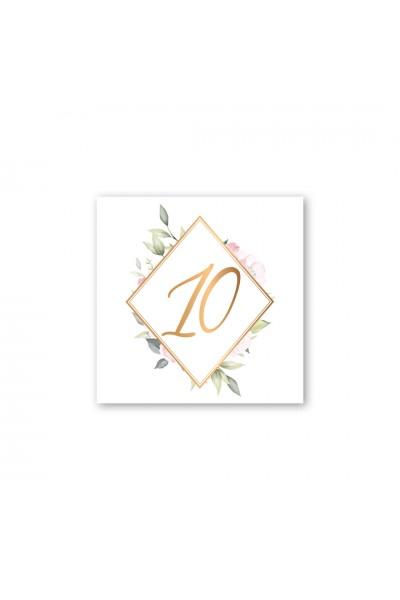 Καρτελάκι αρίθμησης γάμου 062A