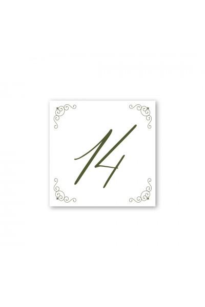 Καρτελάκι αρίθμησης γάμου 085A